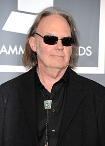 Neil Young at the Grammy Awards (Jason Merritt/Getty)