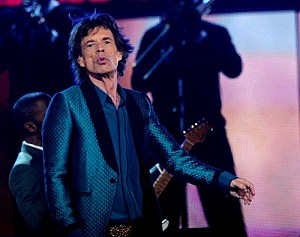 Mick Jagger at the Grammys (Kevin Winter/Getty)