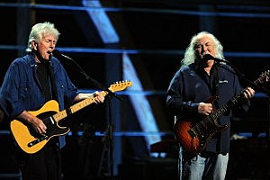 Graham Nash and David Crosby (Stephen Lovekin/Getty)