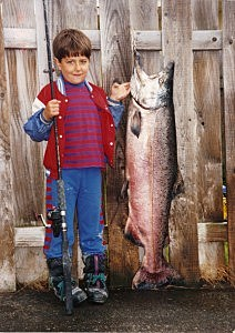 Marty Klatt Alaskan King Salmon