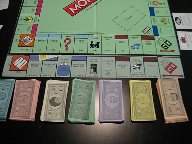 Monopoly Board King of the Hill Version micah.d Flickr