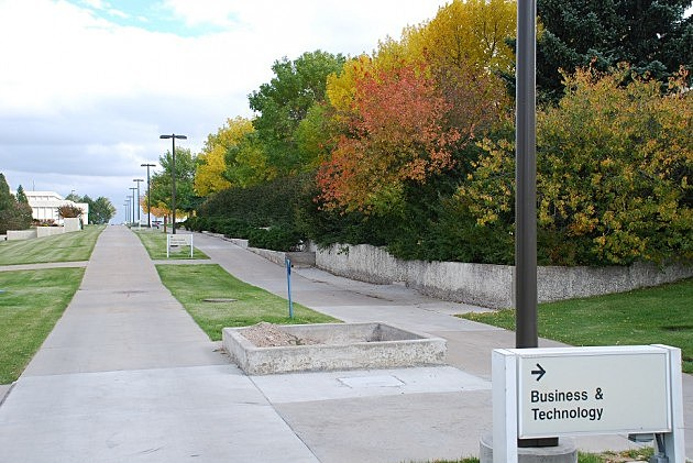 Fall Colors at LCCC photo by Trent Morrell