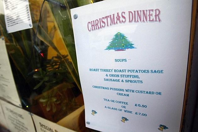 Christmas Dinner Menu, Graeme Robertson, Getty Images