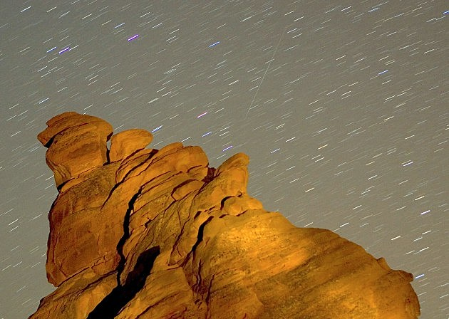 Annual Geminid Meteor Shower Over Nevada Ethan Miller, Getty Images