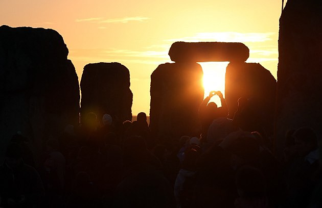 Winter Solstice at Stonehenge, Matt Cardy, Getty Images