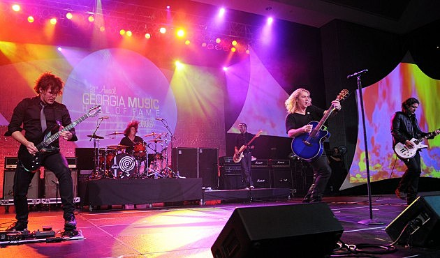 Collective Soul in Atlanta 2009, Rick Diamond. Getty Images