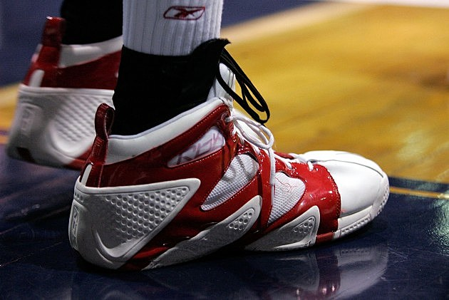 High School Basketball Player Shoe, Brian Bahr, Getty Images