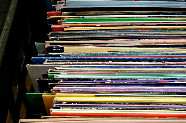 Stack of albums, iStock