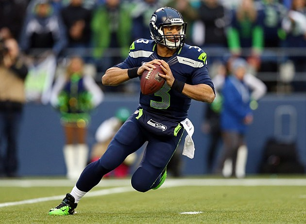 Russell Wilson in the NFC Championship game 2014