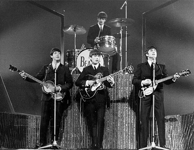 The Beatles at the London Palladium 1963, Michael Webb, Hulton Archive, Getty Images