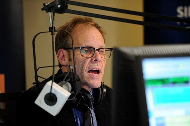 Alton Brown on New York radio station