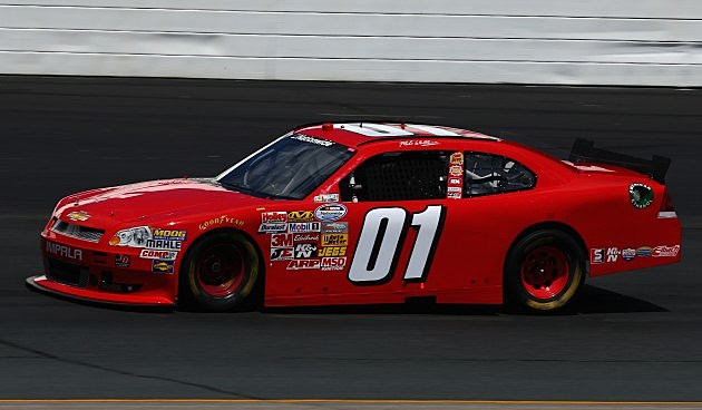 Mike Wallace's #01 Chevy 2013