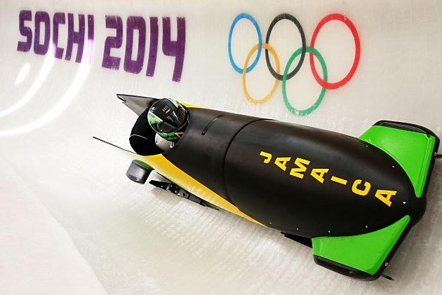 Jamaican Bobsled at Sochi Olympics 2014