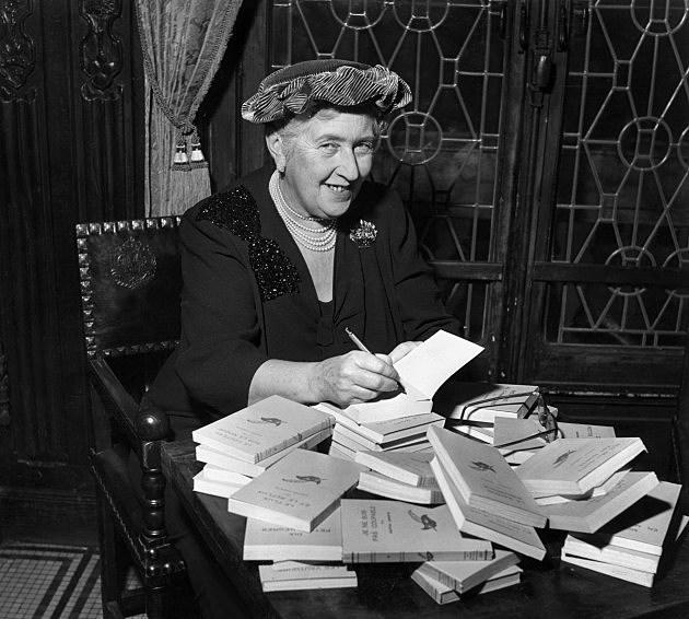 Agatha Christie in 1965