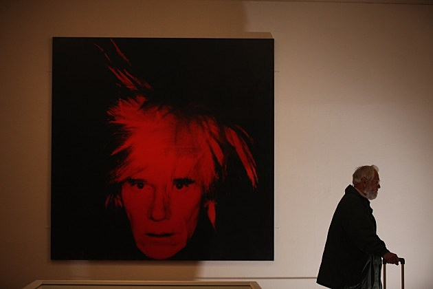 Andy Warhol Self-Portrait 2012