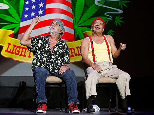 Cheech And Chong Perform At The Palms 2008