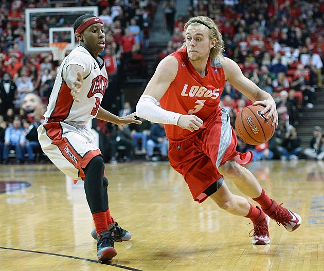 New Mexico Lobo Hugh Greenwood #3
