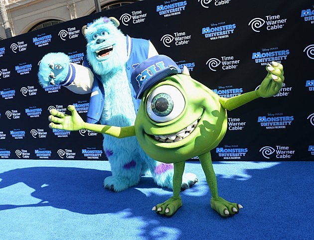 'Monsters University' Premiere 2013