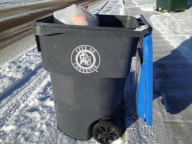 Cheyenne Recycling Bin