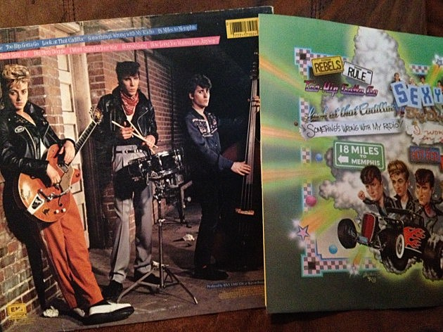 Stray Cats Album and inner sleeve