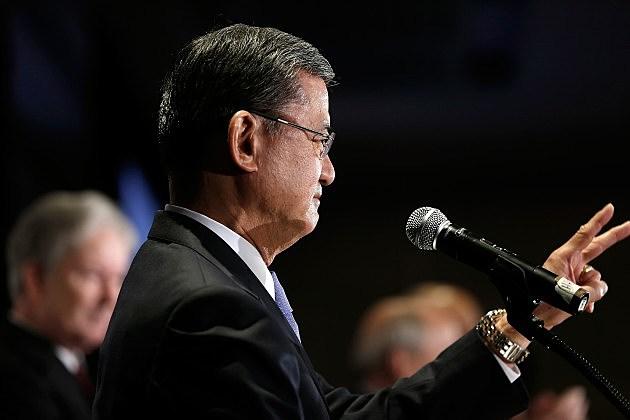Veterans Affairs Secretary Shinseki
