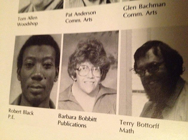 Barbara Bobbitt's yearbook photo from 1979