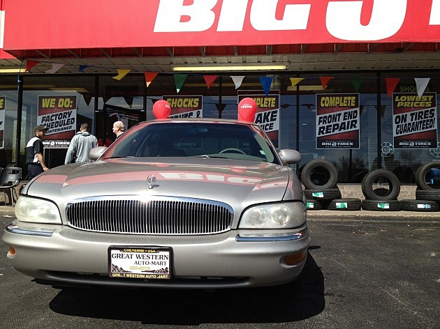 Big O Tires Prize 1997 Buick Park Avenue