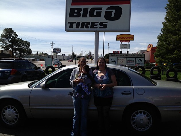 Big O Tires Driven for Moms winner Ione Swallow & Teffany