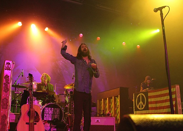 Chris Robinson of the Black Crowes 10-31-10 in New York City