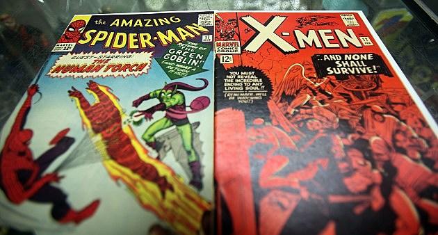 Amazing Spider Man and X-Men Comic Books