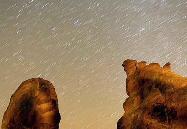 Meteor Shower in Nevada 2007