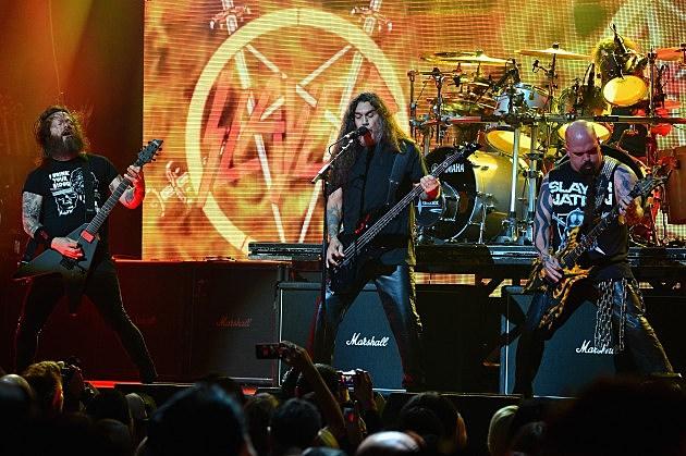 Slayer 2014; Gary Holt, Tom Araya and Kerry King