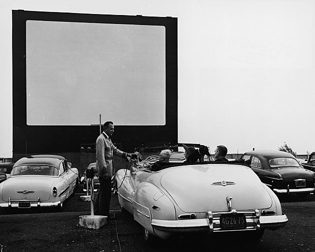 Drive-In Move Theater 1953