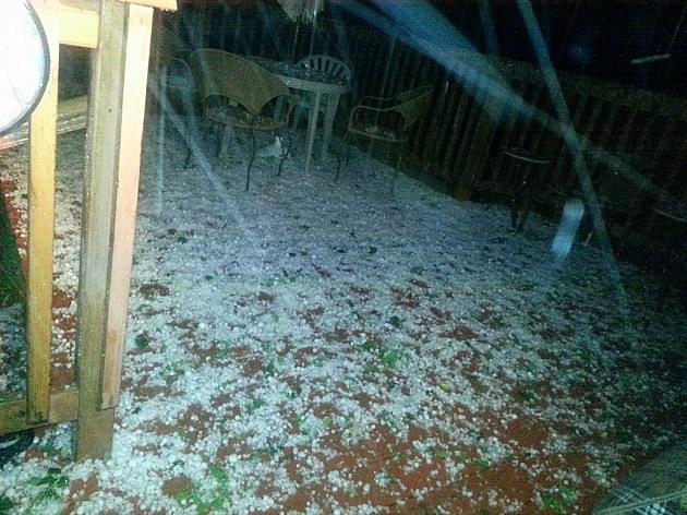 Cheyenne Hail Storm June 24, 2014