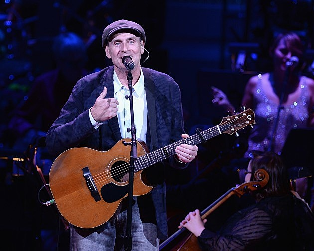 James Taylor in New York City 2014