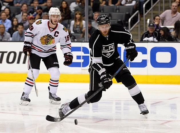 LA Kings Jeff Carter 2014