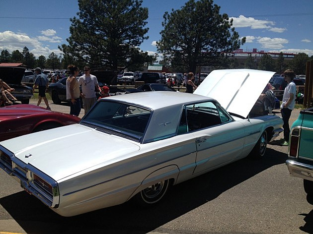 1964 Ford Thunderbird at Superday 2014