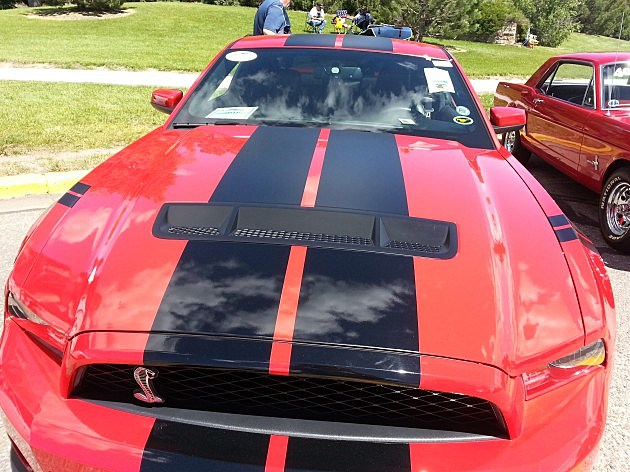 Shelby Mustang at Superday 2014