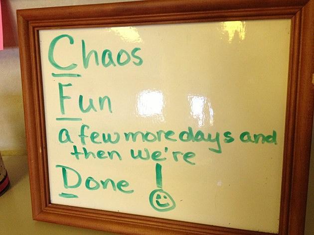 CFD Slogans-Chaos Fun & Done