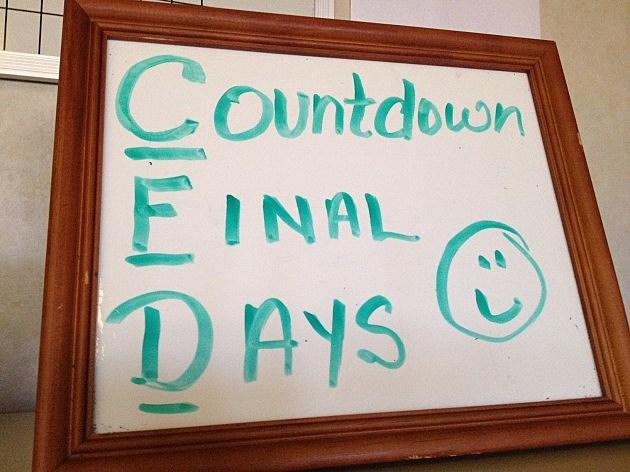 CFD Slogan-Countdown Final Days