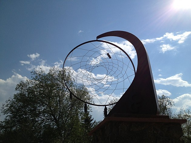 Dream Catcher Statue at Indian Village 2014