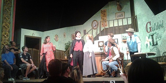 Old Fashioned Melodrama 2014 at the Atlas Theatre