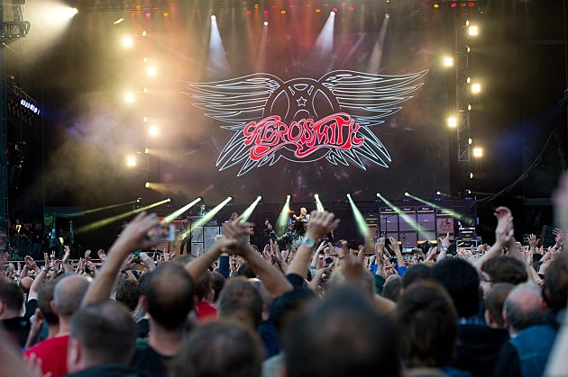 Aerosmith at the Calling Festival in England 2014