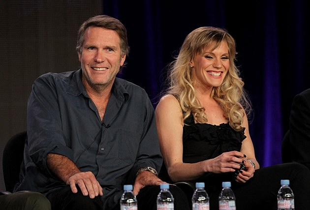 Robert Taylor and Kalee Sackhoff, 'Longmire' Cast Members 2012