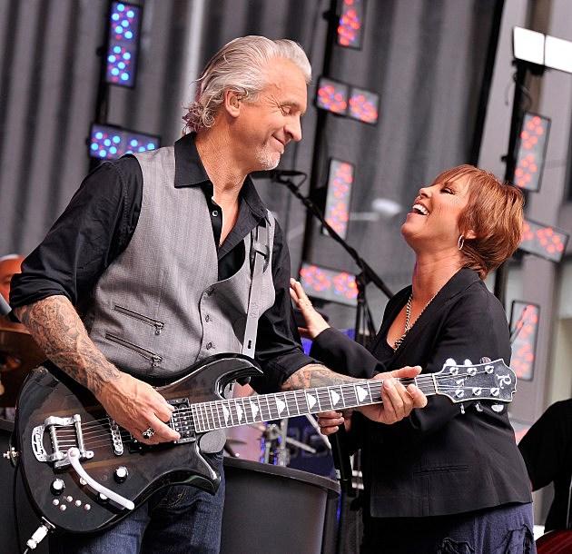 Pat Benatar with husband Neil Giraldo in 2012