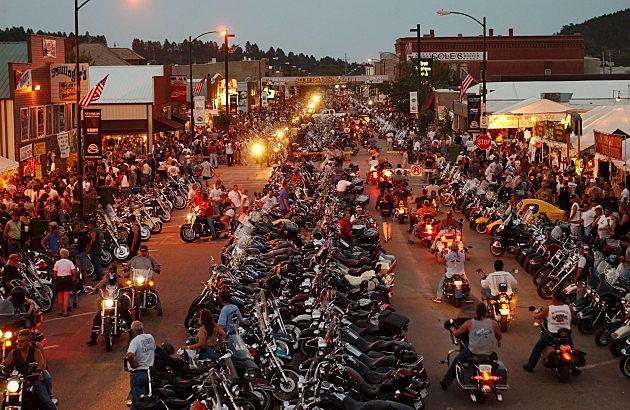 61st Annual Sturgis Motorcycle Rally in 2001