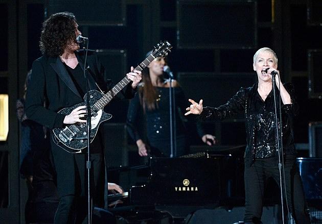 Hozier with Annie Lennox