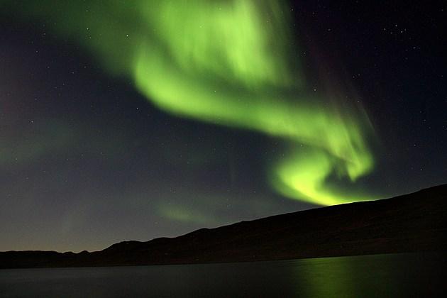 Aurora Borealis in Greenland 2007