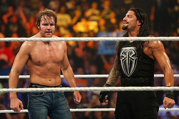 WWE Superstars - Dean Ambrose & Roman Reigns