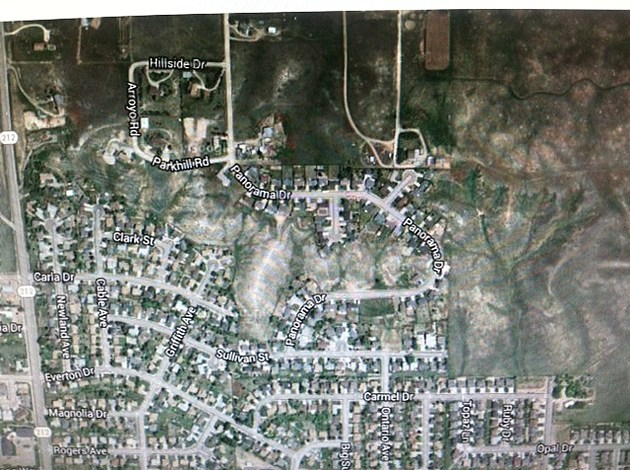 Gooble Maps view of Panorama Drive. Townsquare Media.